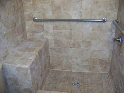 Local near me bathroom repair contractors shower 2018 we do it all low cost shower for Bathroom floor replacement cost