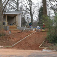 Charlotte Nc Concrete Driveway Patio Contractors 2018 We Do It All Overlay