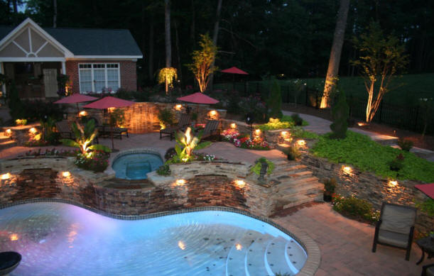 install repair deck patio lights landscape yard lawn low With low voltage outdoor lighting costs