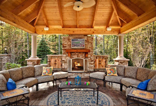 Oklahoma City Outdoor Kitchens Fireplaces Builders 2019 Low Cost