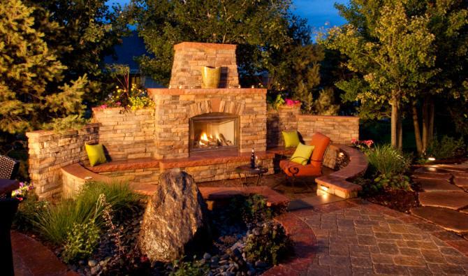 Contractors Build Custom Outdoor Kitchen Fireplace Builders Contractor Build Custom Outdoor