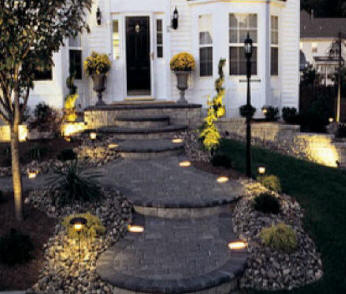 Outdoor Landscape Lighting What Do We Light Trees And Shrubs Gardens Pathways Walkways Decks Pergola S Gazebo Waterfalls Walls