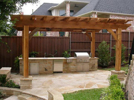Local near me outdoor fireplace builders we do it all for Outdoor kitchen builders near me