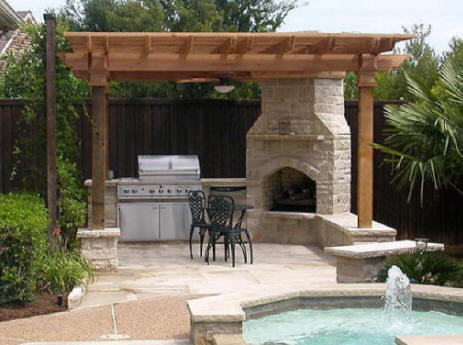 Cost 2 Build Outdoor Living Space We Do It All Company Install Builder Patio Kitchen