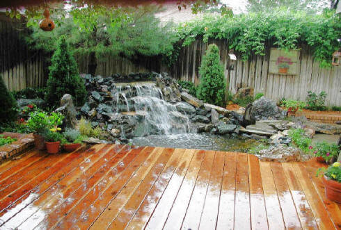 local pond builders local water features builders company build