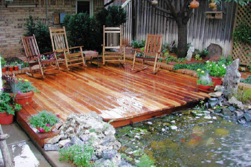 Huntersville pond builders we do it all low cost for Koi pond installation cost