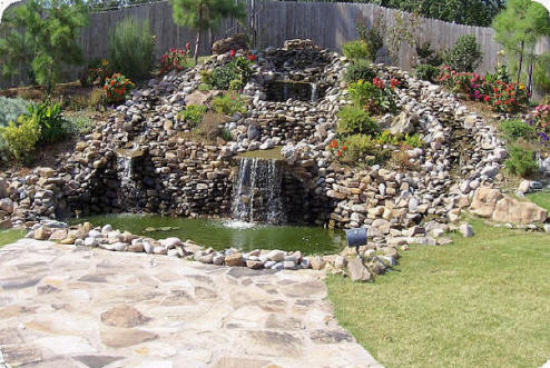 Concord nc pond builders we do it all low cost for Koi fish pond depth