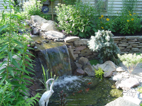 Waxhaw nc ponds we do it all low cost build water for Koi pond installation cost