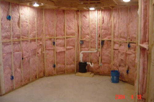 Fairfield chester sc basement contractors we do it all for Appraisal value of unfinished basement