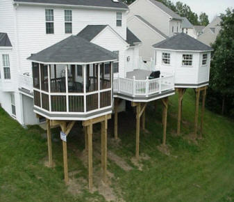 Help With All Phases Of Your Columbia SC Deck Project Columbia SC Deck  Builders We Do It All Low Cost Replace