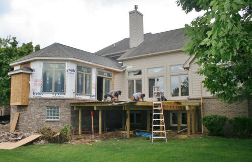 Local near me wood deck builders we do it all low for Low cost home additions
