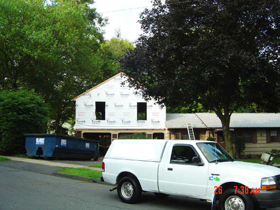 Contractors home additions contractors we do it all for Garage addition cost