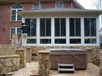Local Near Me Contractors Enclose Patio Deck Sunroom