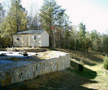 Rock hill fort mill sc retaining walls rock hill fort for Landscaping rocks columbia sc