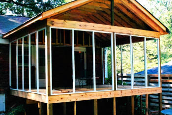 Charlotte nc home additions we do it all low cost for Building a four season room