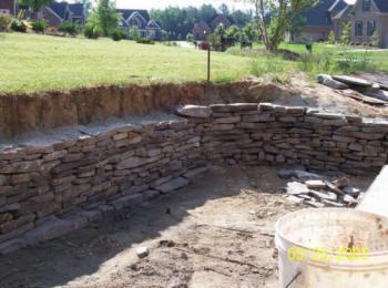 Charlotte Nc Retaining Walls Contractors Install 2019 Builders Concrete Allan Block Brick Stone