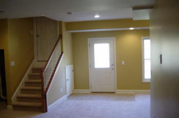 Local Near Me Basement Contractors Install Drywall