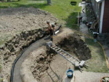 Local pond repair clean company local ponds remodel koi for Koi pond installation cost