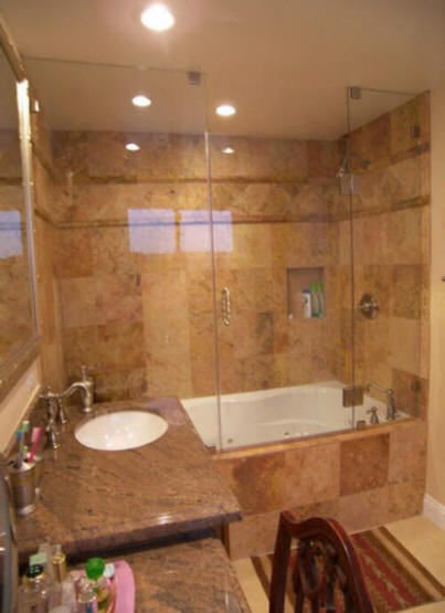 Budget Bathroom Remodel Shower We Do It All Low Cost