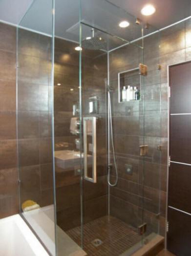 Bathroom rotten floor repair contractors cost install for Local bathroom contractors