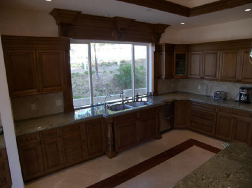 Cost of kitchen designer remodeling contractors install for Cost to update kitchen cabinets and countertops