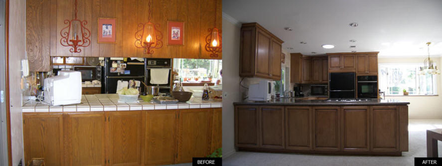 Cost of a small kitchen remodel we do it all for Cost to update kitchen cabinets and countertops