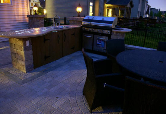 Charlotte Outdoor Kitchen And Fireplace Builders