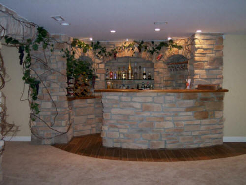 Home basement contractors remodeling finishing for Cost to build a wine cellar
