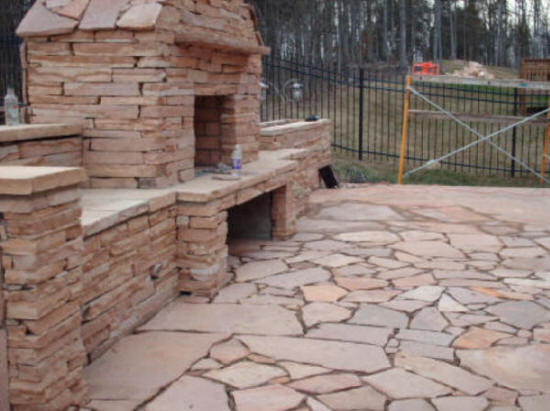 Gallery OUTDOOR ... - Raleigh NC Outdoor Fireplaces - We Build It All!! (LOW COST