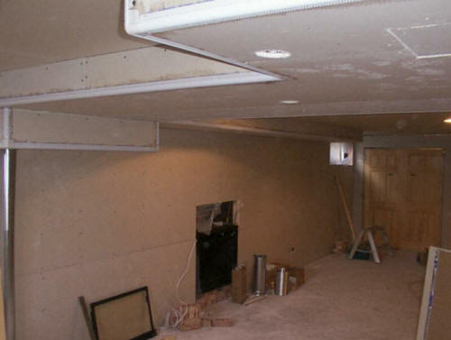Houston texas basement remodeling finishing contractors Man cave ideas unfinished basement