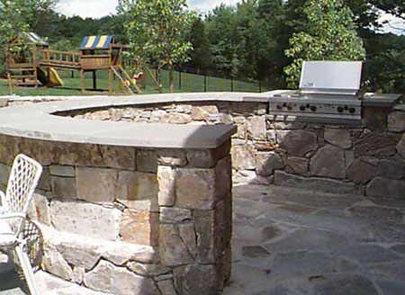 budget outdoor kitchens fireplace builders cost