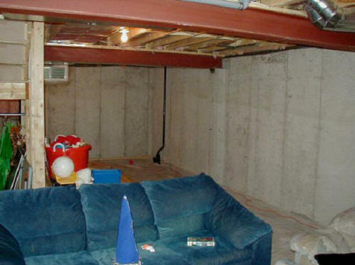 Austin texas basement remodeling finishing contractors Man cave ideas unfinished basement