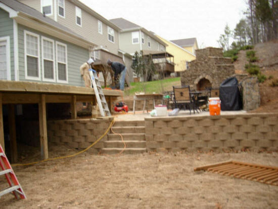 Local Near Me Retaining Wall Repair We Do It All Low