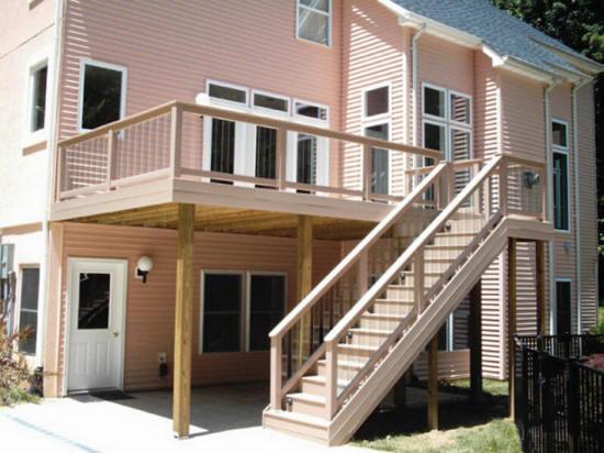 Custom Deck Building Contractors Builders Stain Seal
