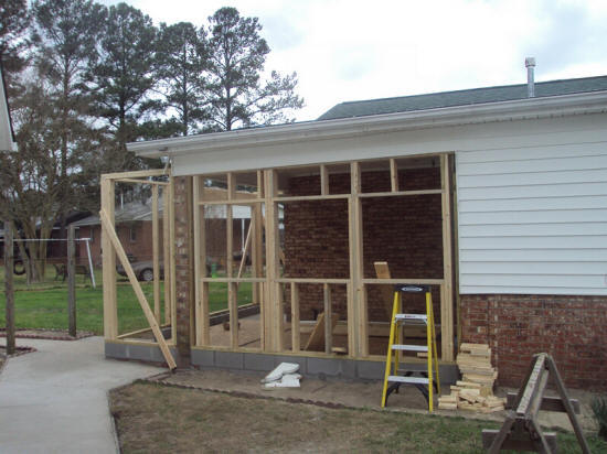 Enclose Carport Into Room : Contractors build sunroom season builders company cost