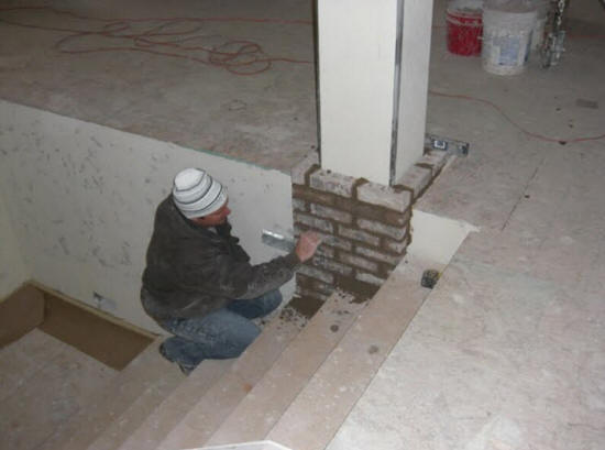 Concord Nc Fireplace Reface We Do It All Low Cost Concord Remodel Install Tile Overlay