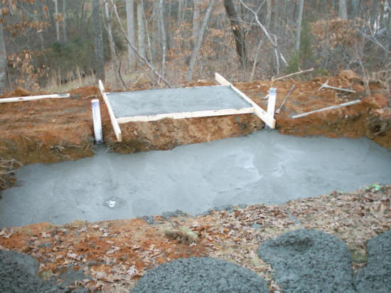 Cary durham apex ponds water features 24x7 cary durham for Fish pond repair