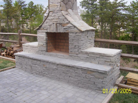 Local Near Me Outdoor Fireplace Builders Installer 2019