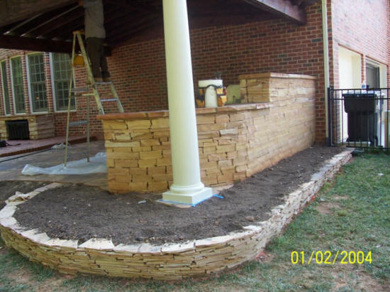 Rock hill fort mill sc outdoor kitchens we do it all for Landscaping rocks columbia sc
