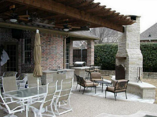 Waxhaw nc outdoor kitchens we do it all low cost for Cost of outdoor living space