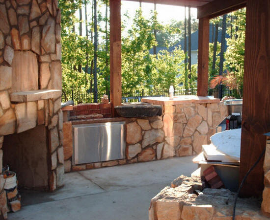 Residential Landscape Design Fees : Cost of landscaping raleigh nc yard residential home landscape design