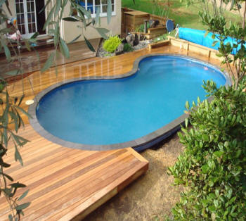 Determining the size of your new deck for Timber decking around pools