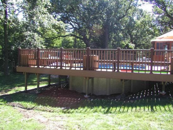 Decks Wood Trex Composite Builders Cost Contractors Free