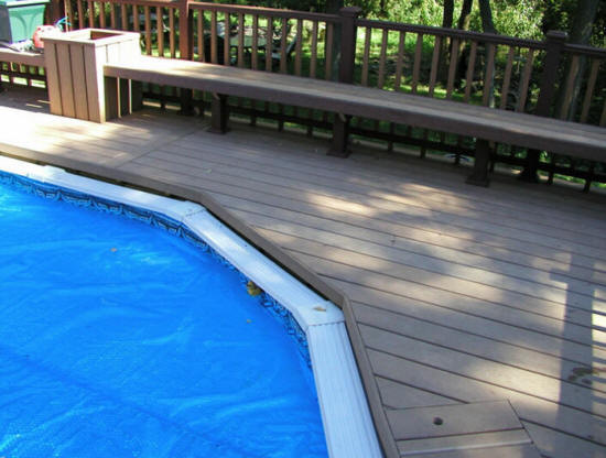 Free Quote Build Around Above Ground Pool Deck Builder