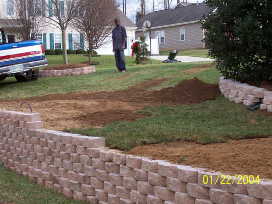 Rock Hill Fort Mill Sc Retaining Walls We Do It All Install Repair Columbia Residential