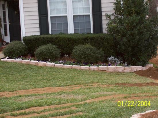 Rock hill fort mill sc retaining walls we do it all for Landscaping rocks columbia sc