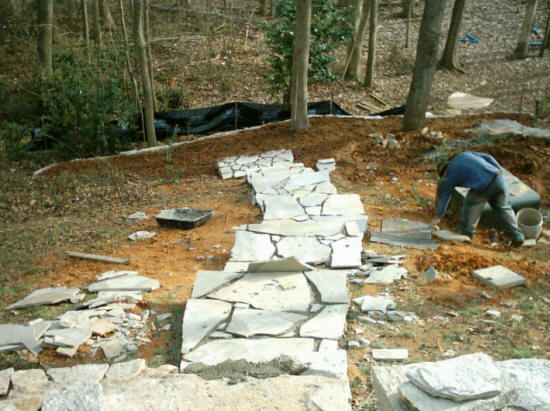 Fort Mill Rock Hill SC Outdoor Patios Flagstone Patio Stone Patio Design Br