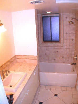 Huntersville nc bathroom remodel we do it all for Bathroom floor repair contractor