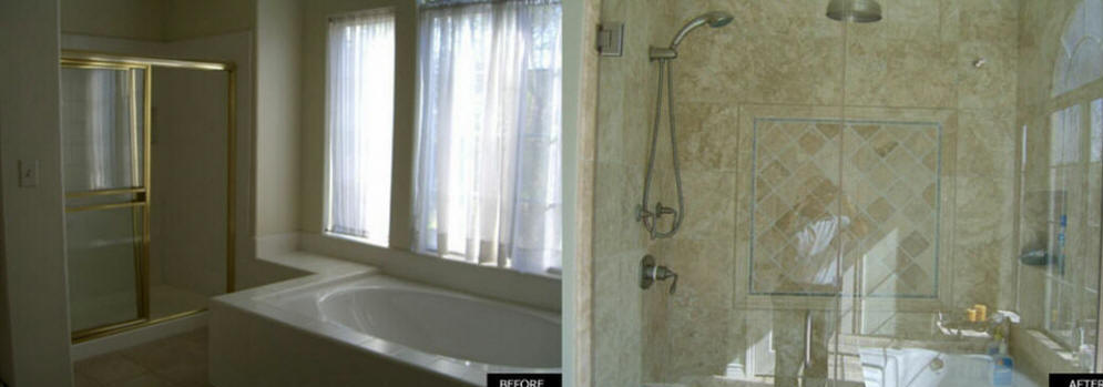 Local near me shower remodel we do it all low cost for Local bathroom contractors