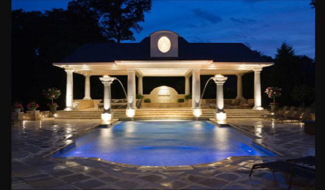 Oklahoma pool house builders we do them all low cost for Custom pool cabanas